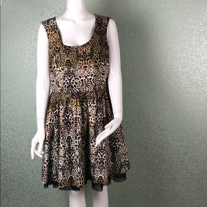 Jessica Simpson Leopard Print Dress Size 15/16